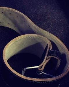 4 Inch powerlifting belt